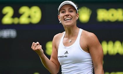 Στον τελικό του Wimbledon η Κέρμπερ