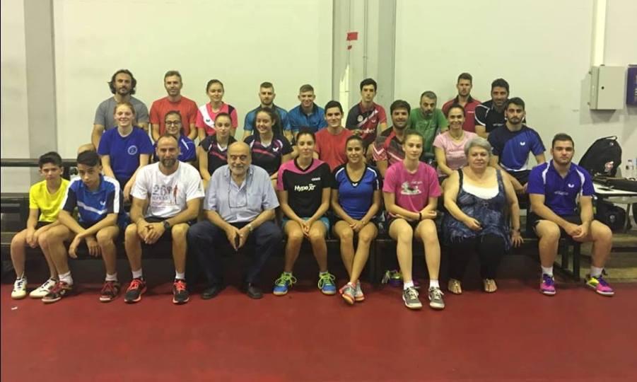 Στο Κλουζ για το Ευρωπαϊκό Πρωτάθλημα οι νεαροί διεθνείς του πινγκ πονγκ
