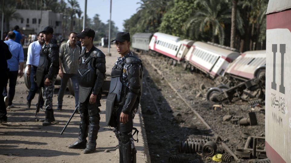 Αίγυπτος: Υπό κράτηση ο οδηγός του τρένου που εκτροχιάστηκε στη Γκίζα