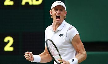 Στον τελικό του Wimbledon ο Άντερσον μετά από… 6 ώρες και 35 λεπτά!