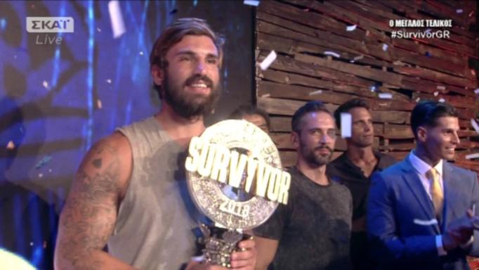 Survivor – Τελικός: Μεγάλος νικητής ο Ηλίας Γκότσης!