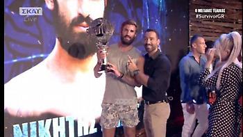 Τηλεθέαση: Ο τελικός του Survivor 2018 άγγιξε το 49%!