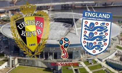 Οι ενδεκάδες στο Βέλγιο-Αγγλία