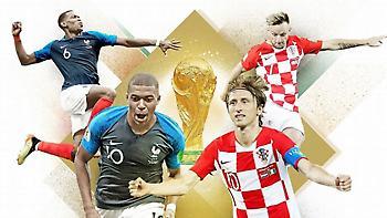 Γαλλία-Κροατία: Το ματς της ζωής τους