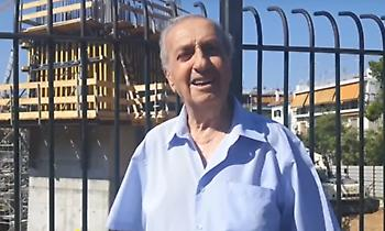Συγκινητικός Νεστορίδης: Δακρύζει μπροστά στην «Αγια-Σοφιά» (video)