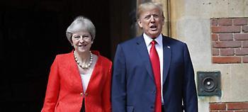 Η συμβουλή του Τραμπ στη Μέι για το Brexit: Κάνε αγωγή στην ΕΕ