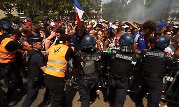 Επεισόδια με την αστυνομία και 20 τραυματίες στο Παρίσι πριν τον τελικό! (video)