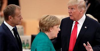 Νέα βεντέτα ΕΕ με Τραμπ: Ψεύτικα νέα ότι η ΕΕ και οι ΗΠΑ είναι εχθροί