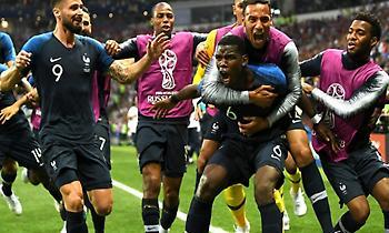 LIVE: Γαλλία-Κροατία 4-2