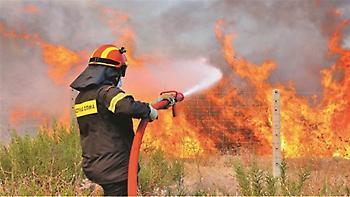 Νέα εστία πυρκαγιάς στα Φαλάσαρνα Χανίων