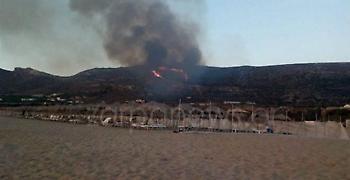 Κρήτη: Σε εξέλιξη πυρκαγιές στα Χανιά και το Ρέθυμνο