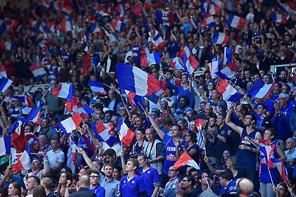 Όλη η Γαλλία είδε Μουντιάλ