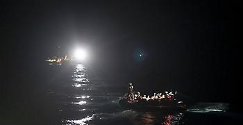 Διάσωση 56 μεταναστών που εντοπίστηκαν ανοιχτά της Λευκάδας