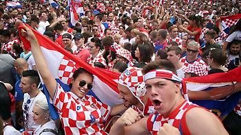 Έτοιμη η υποδοχή ηρώων για την Κροατία (pics)