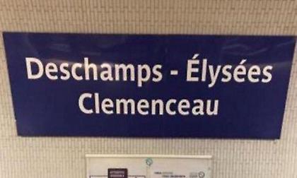 Μετονομάστηκαν στάσεις του παριζιάνικου μετρό προς τιμήν των παγκόσμιων πρωταθλητών