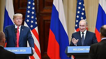 Τραμπ:Οι σχέσεις μας με τη Ρωσία ήταν κακές μέχρι πριν από 4ώρες - Πούτιν: Ήθελα να κερδίσει ο Τραμπ