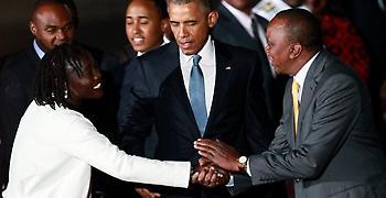 Στην Κένια βρίσκεται από την Κυριακή ο Μπαράκ Ομπάμα (video)