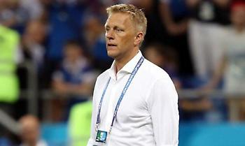 Παραιτήθηκε ο προπονητής της εθνικής Ισλανδίας