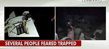 Ινδία: Εξαώροφη πολυκατοικία κατέρρευσε κοντά στο Δελχί - 2 νεκροί, δεκάδες εγκλωβισμένοι