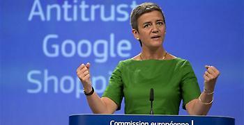 Bloomberg: Πρόστιμο - μαμούθ ύψους 4,3 δισ. ευρώ θα επιβάλει η ΕΕ στη Google