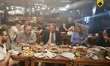 Αγγελόπουλος και Μπάνκι δείπνησαν στη Νέα Φιλαδέλφεια (pic)