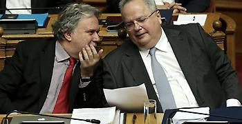 Κατρούγκαλος: Εχθρική και πολιτικά απαράδεκτη η κράτηση των δυο στρατιωτικών