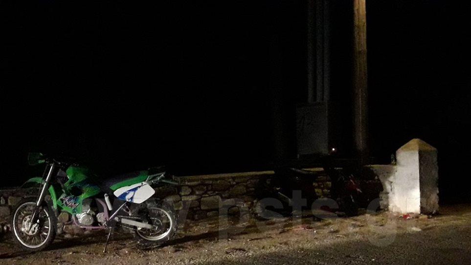 Τραγωδία στην Πάρο: Τροχαίο δυστύχημα με μηχανές - Ένας νεκρός και μία τραυματίας
