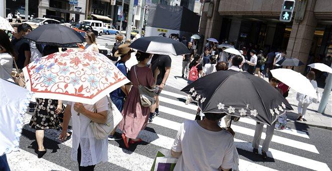 Ιαπωνία: Φονικός καύσωνας έχει στοιχίσει τη ζωή σε 30 ανθρώπους
