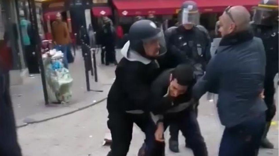 Έλληνας που είχε δώσει ψεύτικα στοιχεία ο διαδηλωτής τον οποίο ξυλοκόπησε ο σύμβουλος του Μακρόν