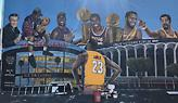 Βανδάλισαν την τοιχογραφία του Λεμπρόν στο LA (pics)
