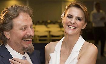 Παντρεύτηκε η Κατερίνα Μάρκου με τον Θανάση Οικονόμου
