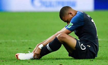 Το μυστικό των Γάλλων: Ο Εμπαπέ έπαιξε τραυματίας σε ημιτελικό και τελικό στο Μουντιάλ!
