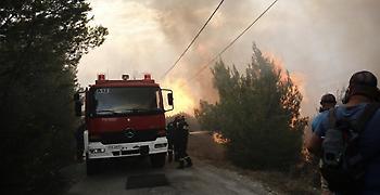 Φωτιά στην περιοχή του Καλάμου