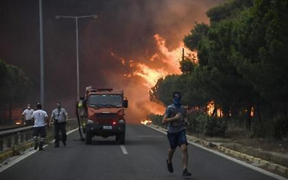 Ο ΣΕΓΑΣ κοντά στα θύματα των φονικών πυρκαγιών