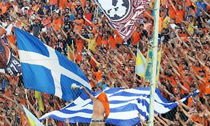 Το πανό των οπαδών του ΑΠΟΕΛ για την Ελλάδα και τις πυρκαγιές (pic)