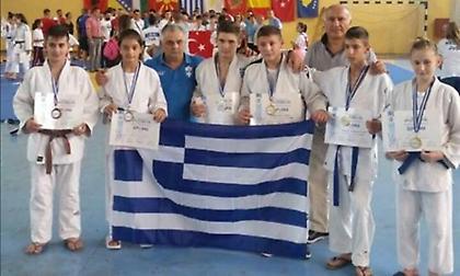 «Αυλαία» με εννέα μετάλλια για την Ελλάδα στο Βαλκανικό τζούντο της Μίκρας