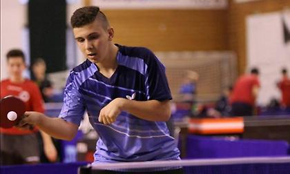 Εκπροσώπηση στο Βαλκανικό πρωτάθλημα U21 πινγκ πονγκ με δύο αθλητές