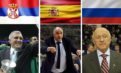 Ευρωλίγκα: Οι χώρες με τα περισσότερα «προπονητικά» τρόπαια στην ιστορία!