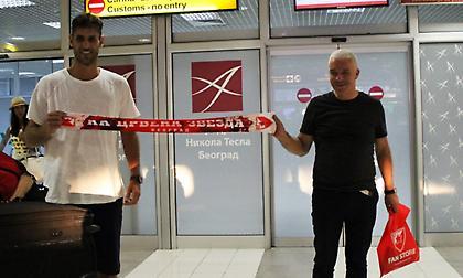 Έφτασε Βελιγράδι ο Περπέρογλου (pics)