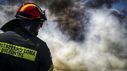 Πυρκαγιά στην Ηλεία - Μεγάλη κινητοποίηση της πυροσβεστικής