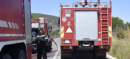 Υψηλός κίνδυνος πυρκαγιάς σήμερα σε πολλές περιοχές της χώρας