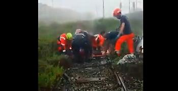 Ιταλία: Κατάρρευση οδογέφυρας στη Γένοβα - Βίντεο από προσπάθειες διάσωσης