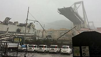 Ιταλία: Στους 35 οι νεκροί από την κατάρρευση της γέφυρας στη Γένοβα