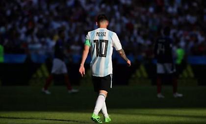 Απέχει από τα προσεχή φιλικά της Αργεντινής ο Μέσι