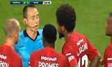Η κόκκινη της Σπάρτακ στο ματς με τον ΠΑΟΚ (video)