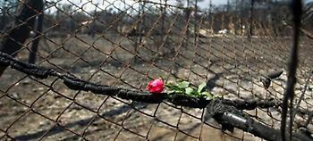 Αυξάνεται στους 96 ο αριθμός των θυμάτων από τη φονική πυρκαγιά στο Μάτι.  Ενας ακόμη εγκαυματίας, η
