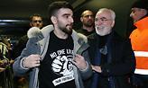 Ο Γ. Σαββίδης ακούει τον ύμνο του Champions League σε κλαμπ (video)