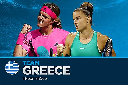 «Ζευγάρι» Τσιτσιπάς-Σάκκαρη στο Hopman Cup!