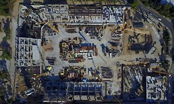 Εκπληκτικά πλάνα του γηπέδου της ΑΕΚ από drone! (video)