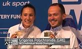 Παγκόσμιος πρωταθλητής ο Γρηγόρης Πολυχρονίδης στο ατομικό BC3